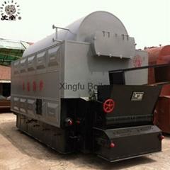 Industrial DZL coal & Biomass fired steam boiler for sale