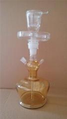big bottle glass hookah of glassware with accessories