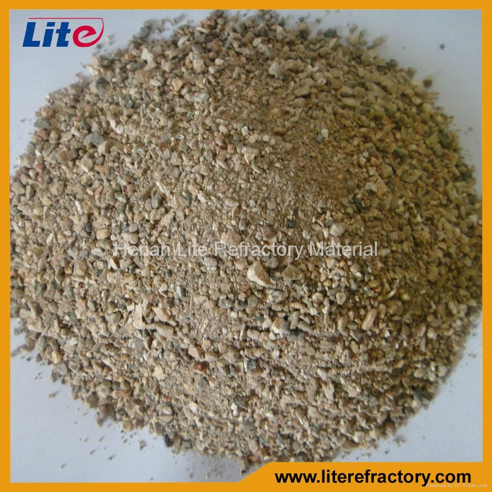 1-3mm 3-5mm 50%-85% Al2O3 Calcined Bauxite Ore Price for Furnace Lining 1
