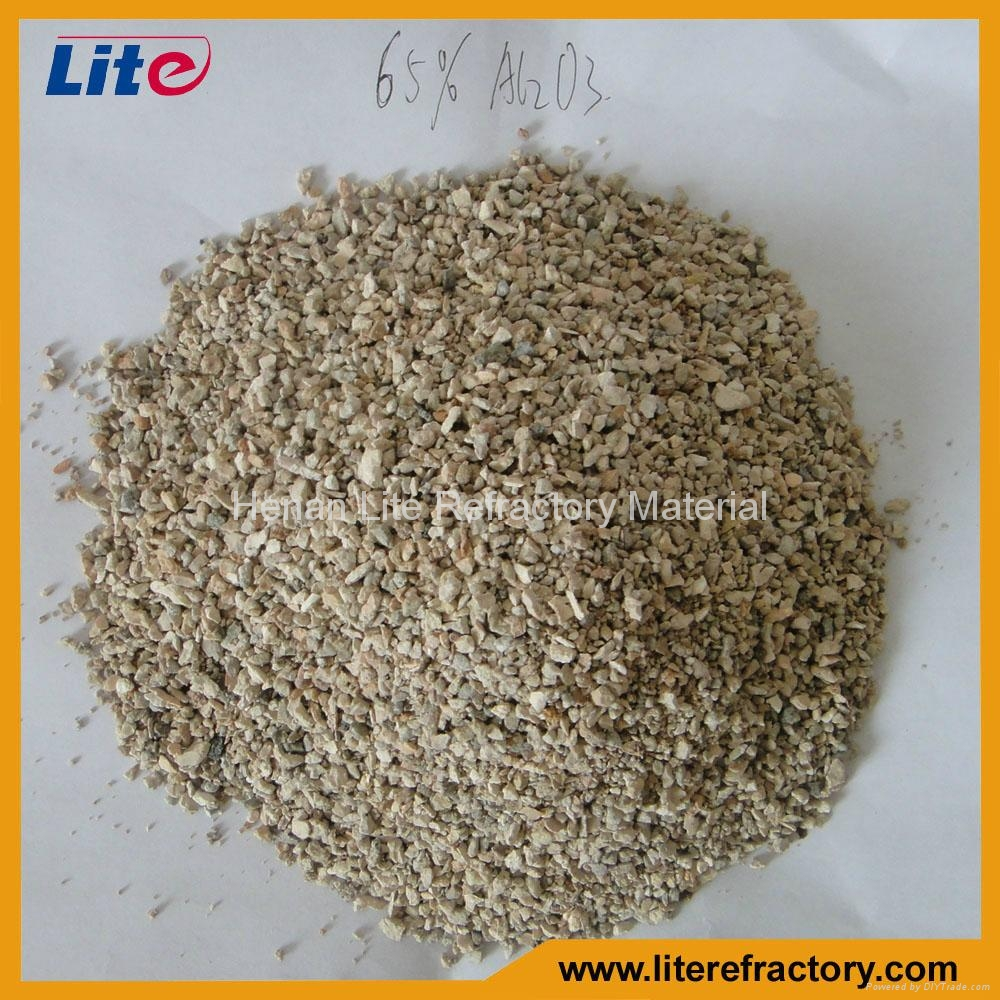 1-3mm 3-5mm 50%-85% Al2O3 Calcined Bauxite Ore Price for Furnace Lining 2