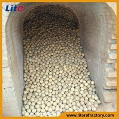 Factory price High Alumina Grinding Balls Refractory Balls