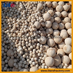 Heating furnace used Corundum ceramic regenerative ball for sell
