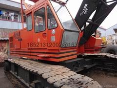 used condition hitachi 50TON crawler crane KH180-3