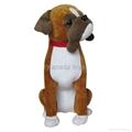 plush simulation boxer Adog stuffed toys
