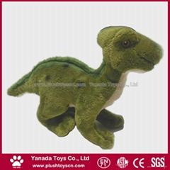 22cm Brown Simulation Stuffed Dinosaur Toys
