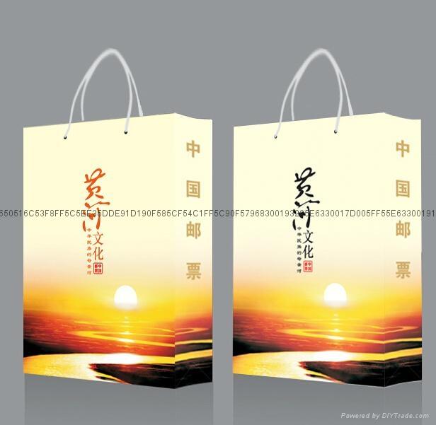 《黄河文化》邮票册 2