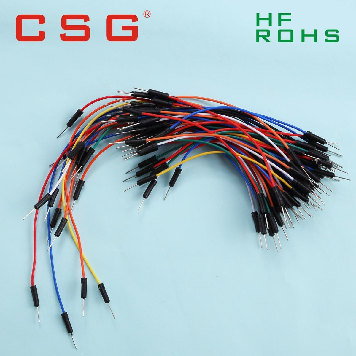 65 pcs Breadboard jumper wire pack for Arduino - A2542 - CSG (China ...