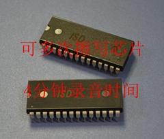 语音芯片ISD4002-120MP、ISD4003-04MP、ISD4004-08MP