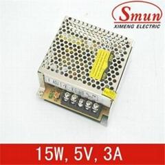 5V 3A单组输出开关电源 15w LED开关电源
