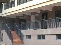 锌钢栏杆简约时尚安全强度高
