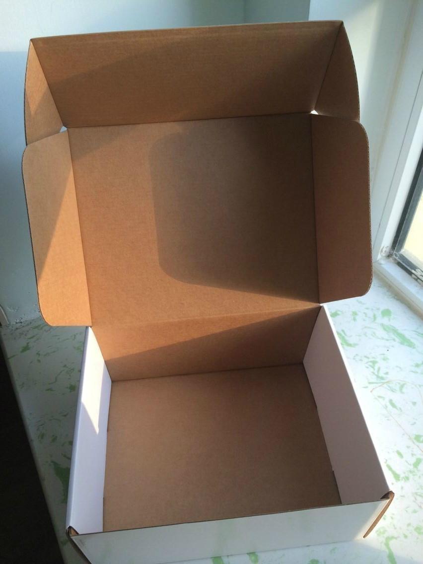 Frozen Seafood Box Wax Coated Foldable Cardboard Packaging 4