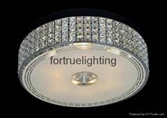 Luxury crystal ceiling lamp