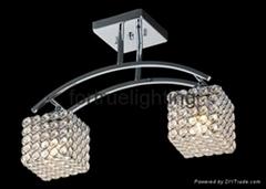 Popular crystal ceiling lighting
