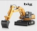 educational toys excavator car remote