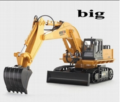 educational toys excavator car remote control radio electric