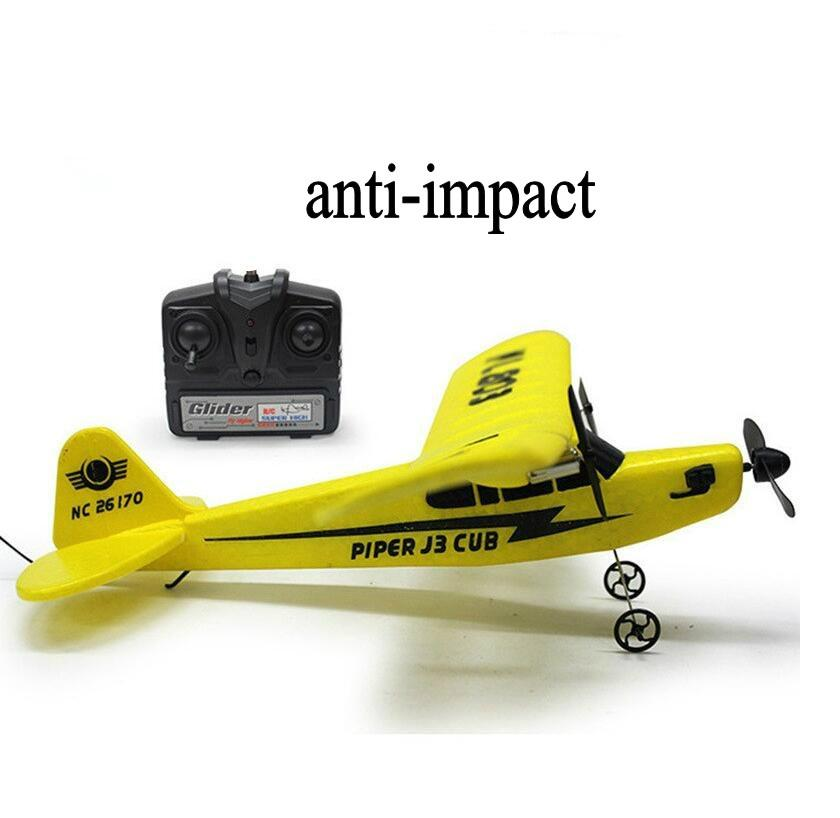 glider electric rc airplane remote control radio powerup foam material 1