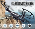 LED LIGHT quadcopter remote control