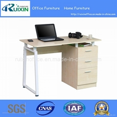Hot Modern Wood Office Table Furniture with Fixed Pedestal