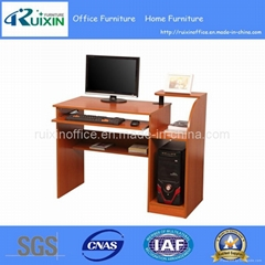 Modern Melamine Wooden Office Table with Keyboard