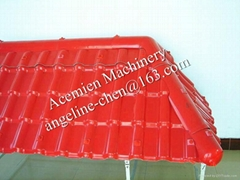 high strength,light weight, easy stallation synthetic resin roof tile machine
