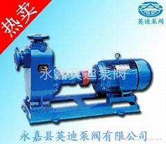 英迪泵阀——ZW无堵塞自吸排污泵