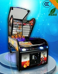 2015 New Coin Operated electronic basketball scoring machine street basketball m