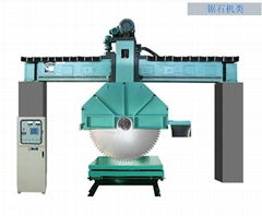 QJS型桥式金刚石锯石机