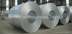 ASTMA792M/JIS G3321/ EN10326/EN10327 Hot Dip Aluminum+Zinc Coated Steel Coils