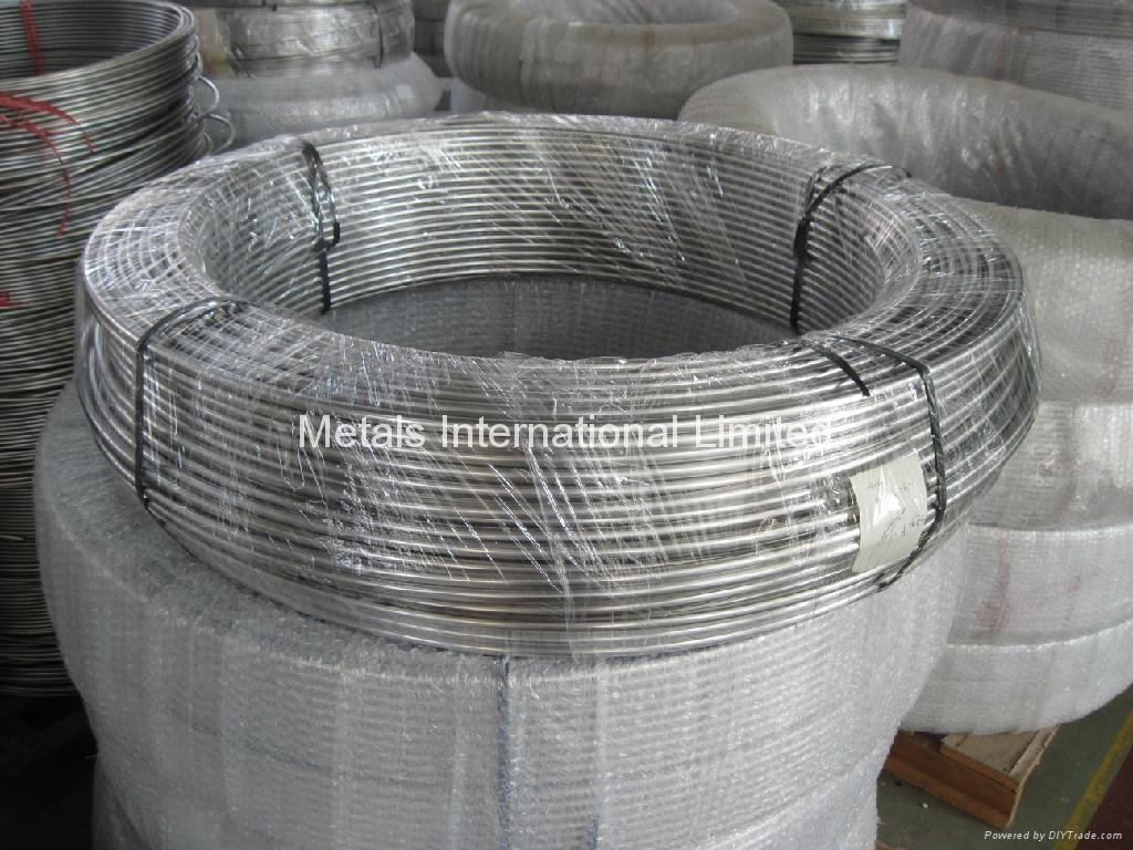 WELDED STAINLESS STEEL COILED TUBES