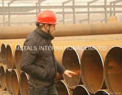 API 5L,ASTM A252,API 2B,GOST 20295 SAWL(Longitudinally Submerged-Arc Welded Pipe