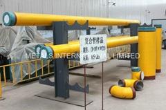 API 5LD Bimetal(Carbon Steel+Stainless Steel)Clad Pipe