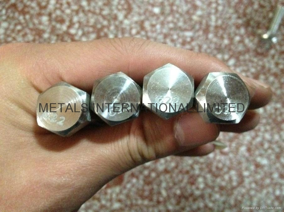 HASTELLOY C276,MONEL400,INCONEL 600,INCOLOY 800 BOLTS,NUTS, THREADED RODS 5