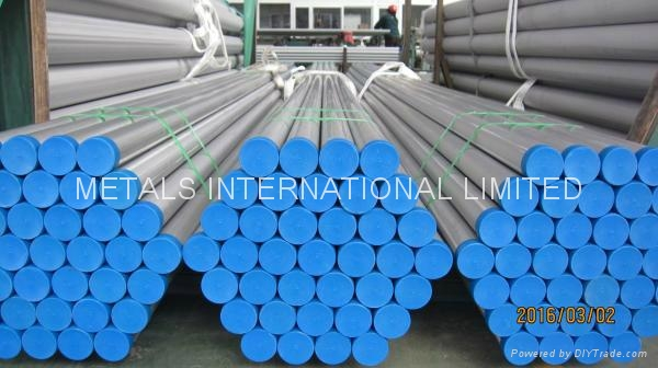 ASTM A928 S32750 WELDED DUPLEX STAINLESS STEEL PIPE