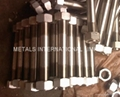 HASTELLOY C276,MONEL400,INCONEL 600,INCOLOY 800 BOLTS,NUTS, THREADED RODS