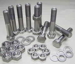 鈦合金螺栓/螺柱/螺母/墊圈/緊固件