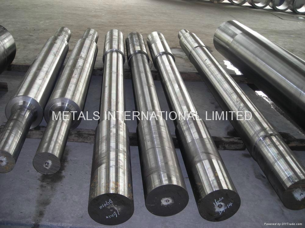 FINISHED MACHINED DRUM SHAFTS