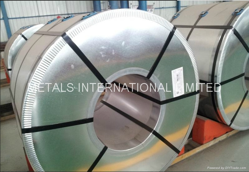 SS275/S280GD+AZ hot dip aluminum-zinc coated steel