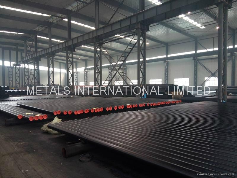 ASTM A53 B/ASTM A252 II/DIN 2440/AS1163 C350L0 ERW Structural Steel Pipe