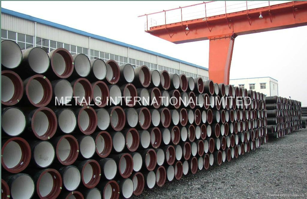 CERAMIC EPOXY LINED DUCTILE IRON PIPE