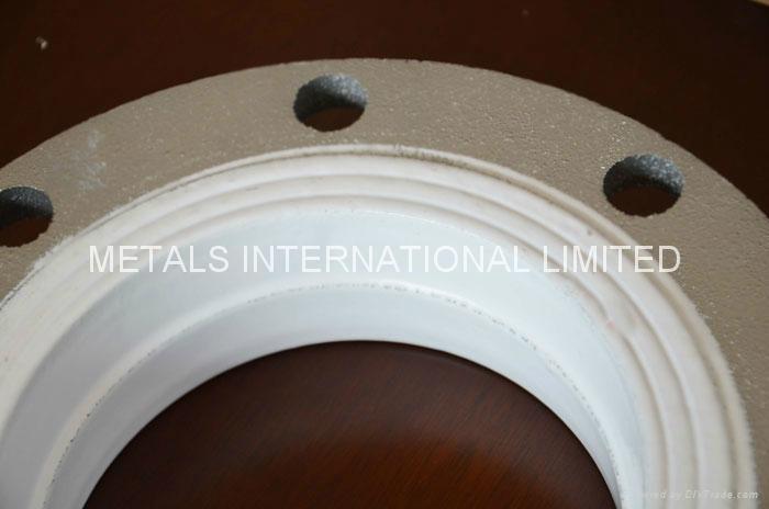 ASTM A105 LIQUID EPOXY LINED FLANGE