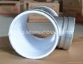 ASTM A105,ASTM A182特氟龙喷涂沟槽管件