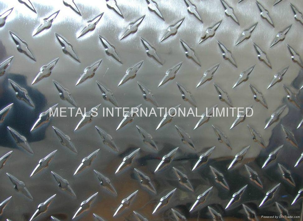 304 Stainless Steel Checkered Sheet