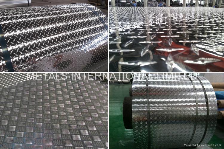 Alumino Chequered Sheet