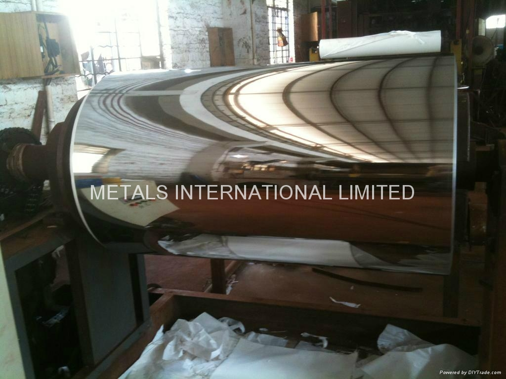 200,304/304L,310S,316/316L,410S,430 MIRRORED STAINLESS STEEL COILS