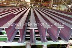 DIN 1025-4,JIS G3192 I-Beam, IPBv/BS4,ASTM A6-1988 UBPs,H-PILES