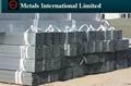ASTM A500 A Galvanized SHS/RHS