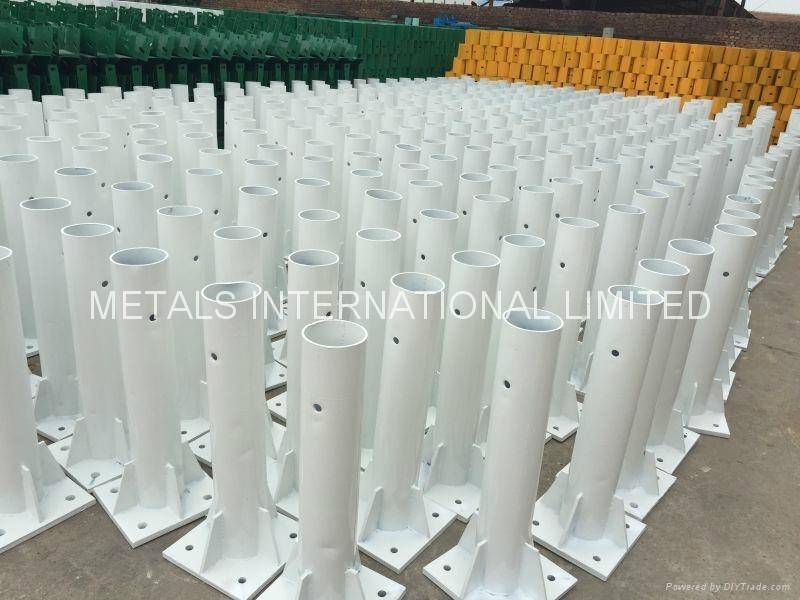 AASHTO-M180,  RG620, ASTM A653/A653M Hot Dipped Galvanized Highway Guardrails 10