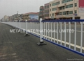 Anti glare road isolation barrier