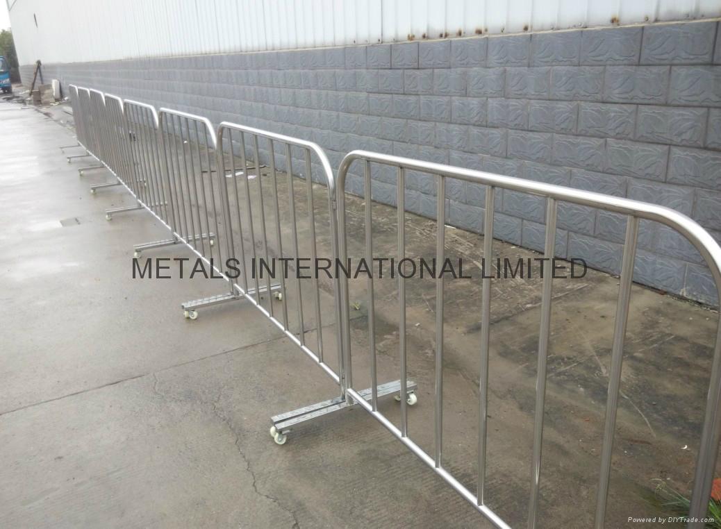 Diy Portable Handrails : Safety barrier crash bollards billboards china