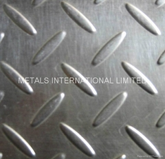 Stainless Steel Cold Pressed Checker Plate